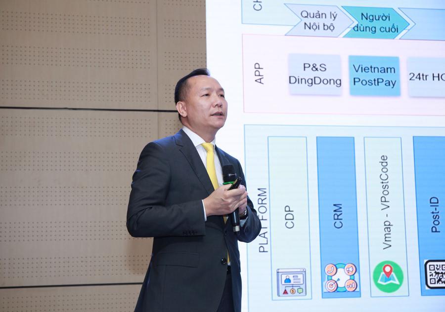 Phó Tổng giám đốc Vietnam Post Lê Quốc Anh cho biết VietnamPostPay sẽ cung cấp các giải pháp quản lý tài chính an toàn, bảo mật cao.