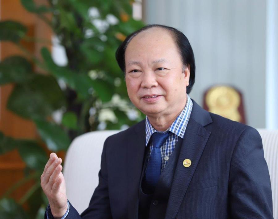 Ông Nguyễn Đình Thắng,Chủ tịch Câu lạc bộ Fintech, Nguyên Chủ tịch Hội đồng quản trị LienViet PostBank.