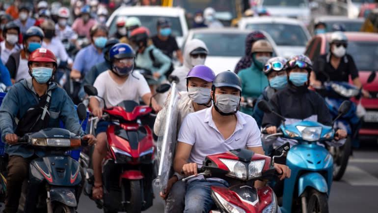 Việt Nam đang trải qua làn sóng dịch bệnh lần thứ 4 kể từ tháng 4 đến nay. Ảnh: Getty Images