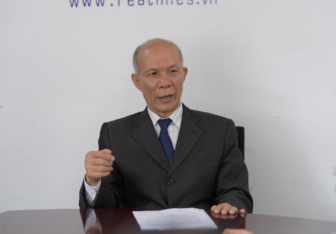 Chuyên gia kinh tế Đinh Trọng Thịnh.