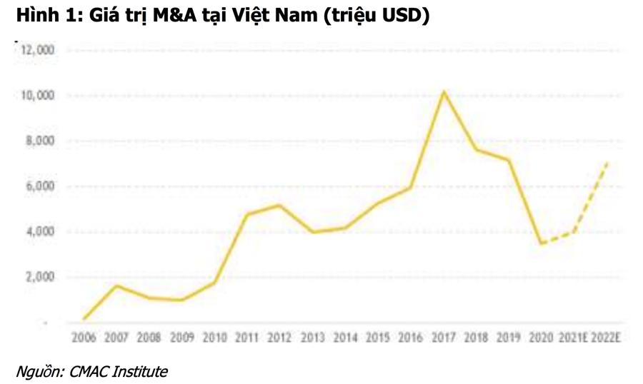 M&A có thể phục hồi lại mức 7 tỷ USD vào năm 2022, mua cổ phiếu nào đón đầu cơ hội? - Ảnh 1