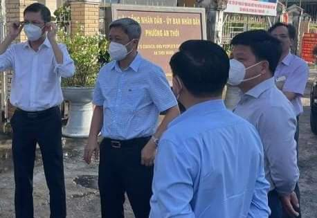 Đoàn Công tác Bộ Y tế kiểm tra công tác thu dung, điều trị F0 tại Phú Quốc.