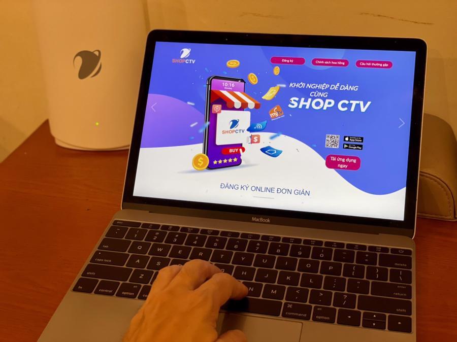 Shop CTV của VNPT tự động xử lý, giúp CTV giảm thiểu tối đa các bước bán hàng thông thường.