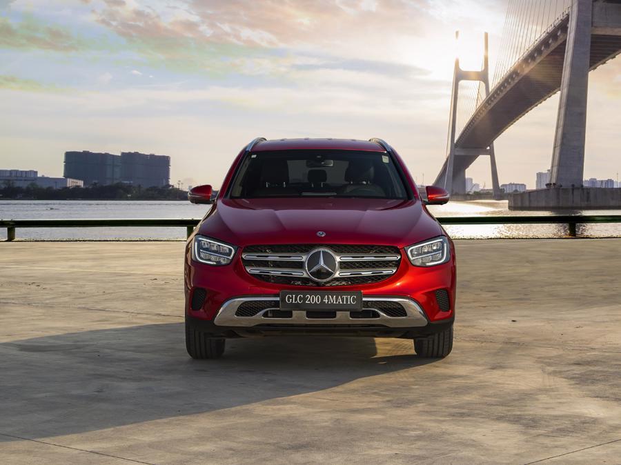 GLC luôn nằm trong top danh sách những mẫu xe sang được ưa chuộng nhất tại Việt Nam.