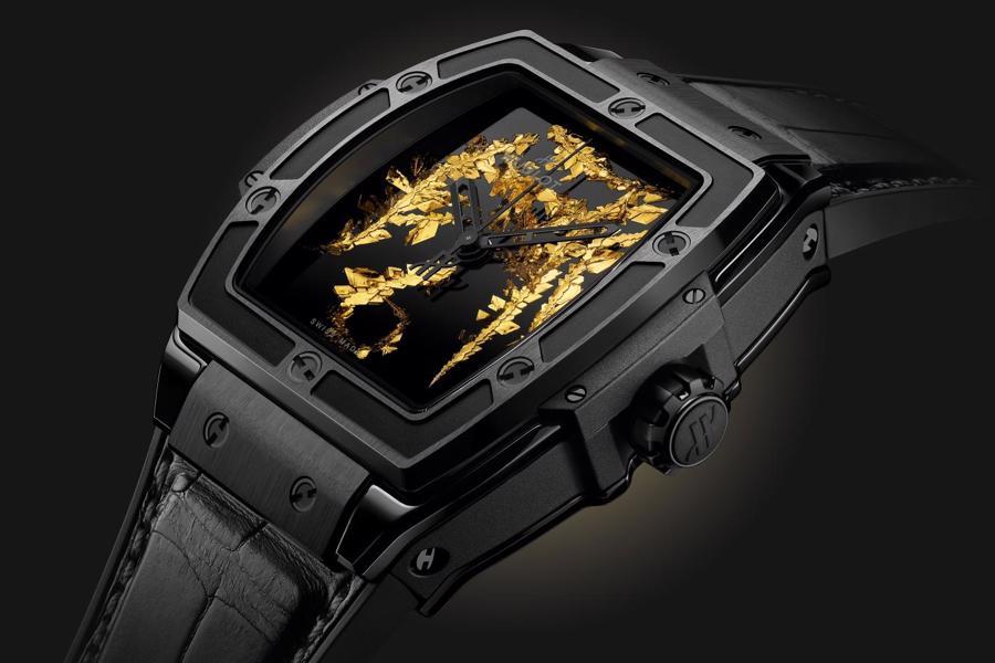 Nhà sản xuất đồng hồ Thụy Sĩ đã trình làng cỗ máy thời gian Spirit of Big Bang Gold Crystal mới của mình.