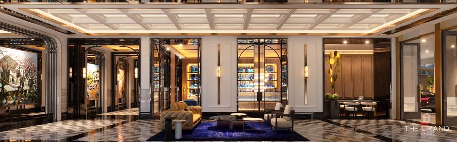 Khu vực chính Khu căn hộ hàng hiệu Ritz-Carlton.