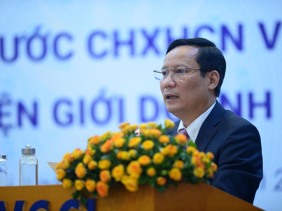 Ông Phạm Tấn Công, Chủ tịch Phòng Thương mại và Công nghiệp Việt Nam (VCCI).