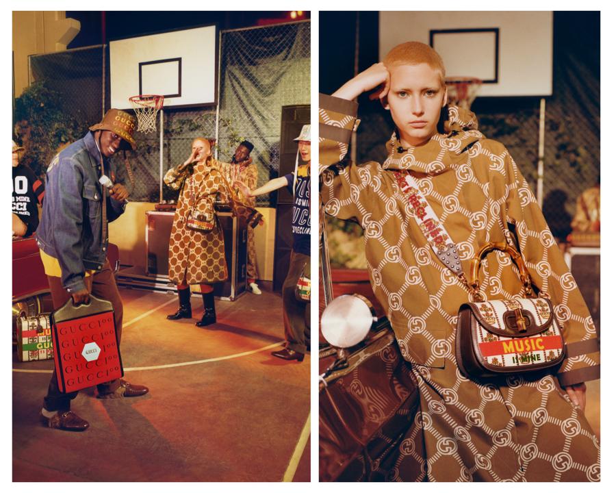 Chiến dịch Gucci 100: bữa tiệc âm nhạc và thời trang hoài cổ - Ảnh 4