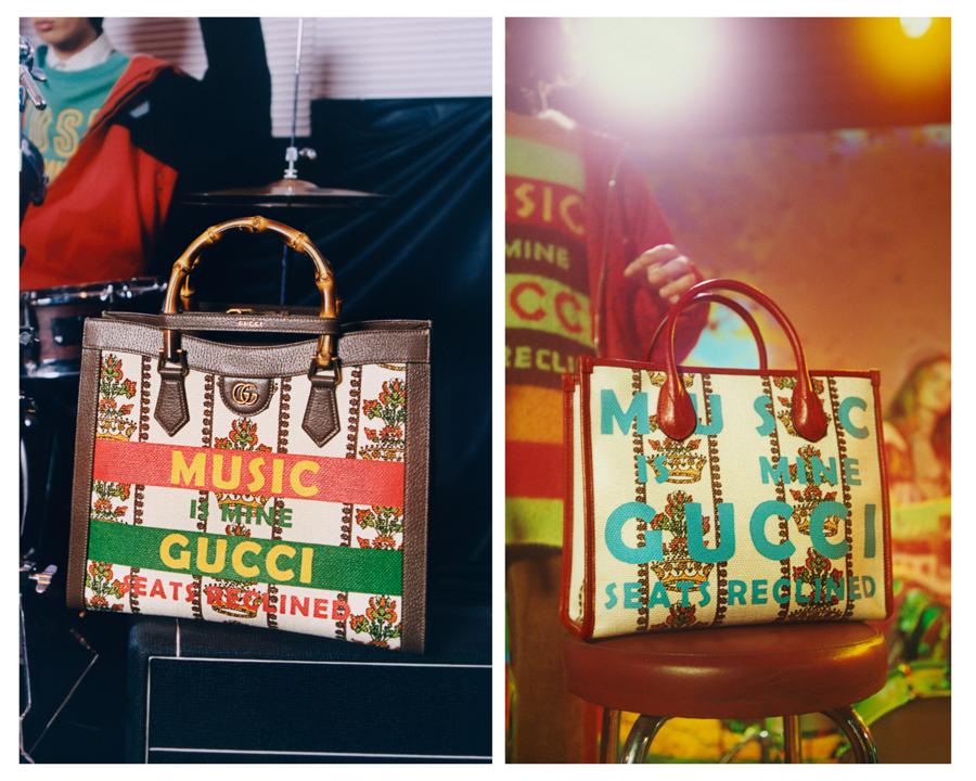 Chiến dịch Gucci 100: bữa tiệc âm nhạc và thời trang hoài cổ - Ảnh 3