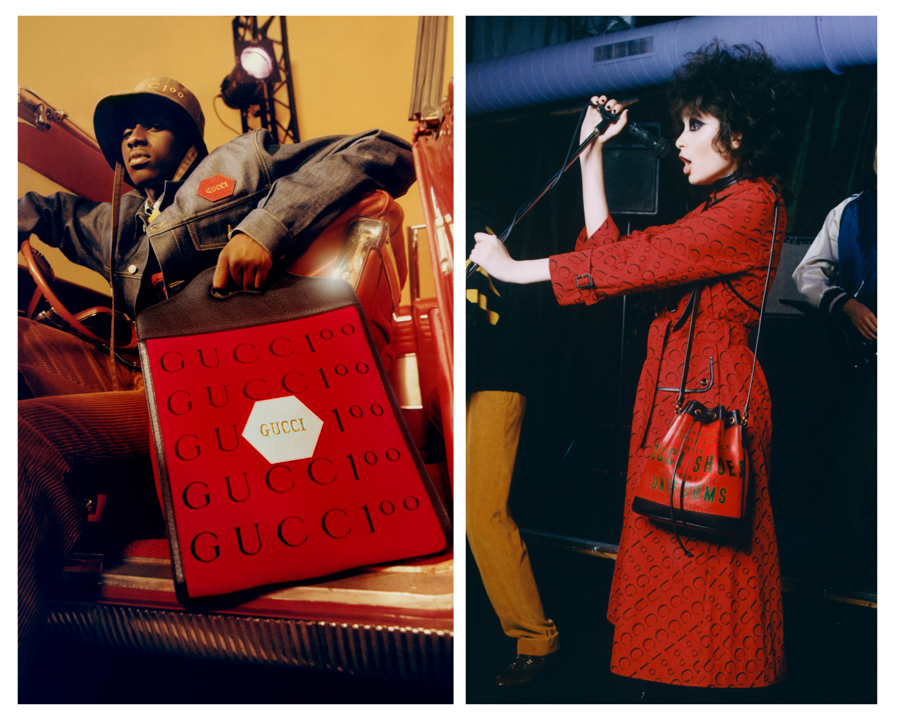 Chiến dịch Gucci 100: bữa tiệc âm nhạc và thời trang hoài cổ - Ảnh 5