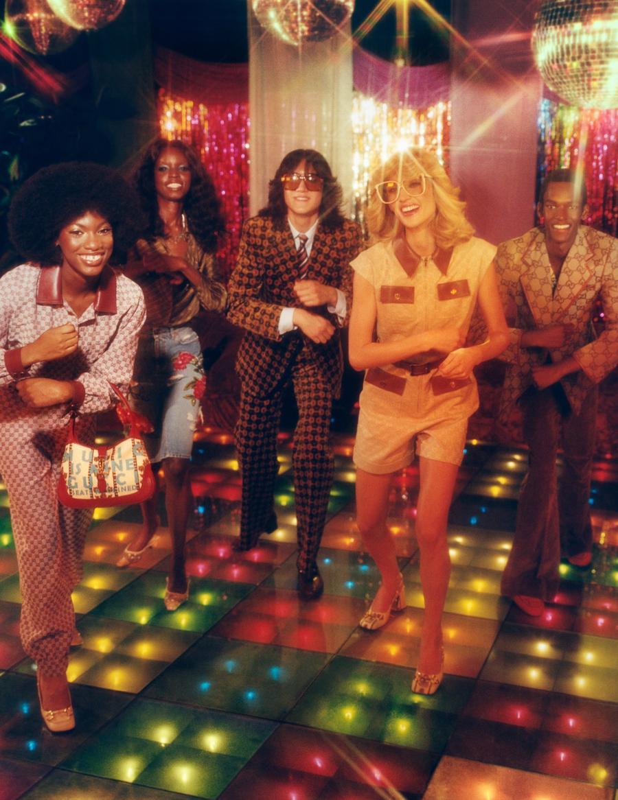 Chiến dịch Gucci 100: bữa tiệc âm nhạc và thời trang hoài cổ - Ảnh 1