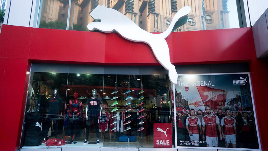 So với nửa đầu năm 2019, doanh số bán hàng của Puma đã tăng 30%.