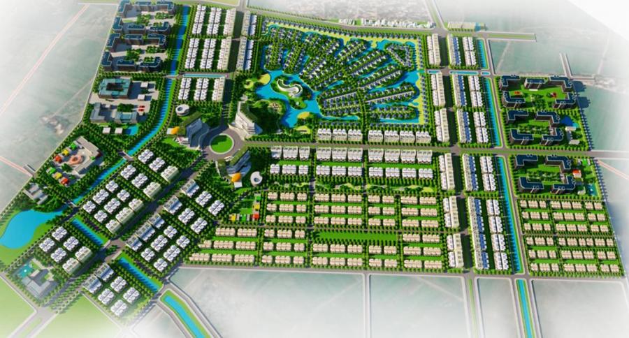 Phối cảnh không gian tổng thể phân khu - Nguồn: Sở Xây dựng Thừa Thiên Huế.