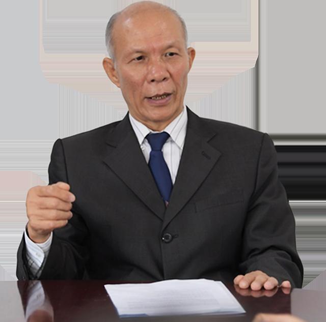 PGS.TS. Đinh Trọng Thịnh, chuyên gia kinh tế.