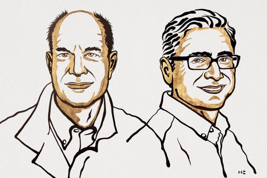 Hai nhà khoa học là chủ nhân của Giải Nobel Y học năm 2021: ôngDavid Julius (trái) vàArdem Patapoutian.