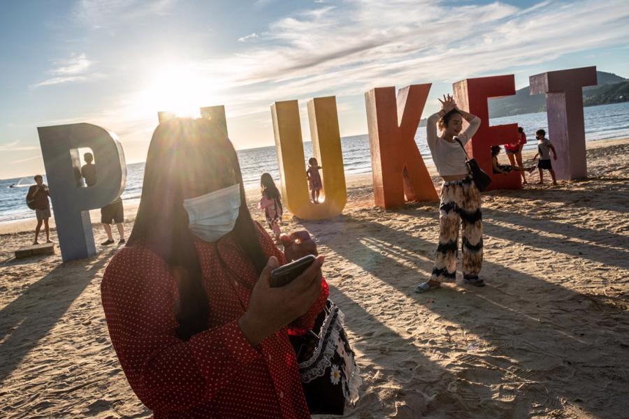 """Số lượng khách du lịch theo chương trình """"Phuket Sandbox"""" ít hơnnhiều so với dự kiến của các nhà chức trách Thái Lan."""