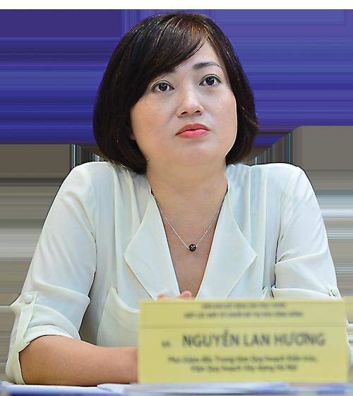 Ths.KTS. Nguyễn Thị Lan Hương, Viện Quy hoạch xây dựng Hà Nội.
