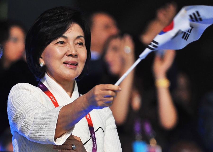 Bà Hong Ra-hee hiện là người phụ nữ giàu nhất Hàn Quốc - Ảnh: Bloomberg