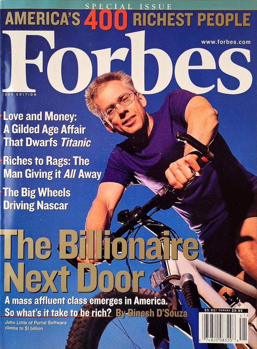 Forbes 400 năm 1999 chứng kiến hàng loạt tỷ phú công nghệ mới nổi gia nhập danh sách - Ảnh: Forbes