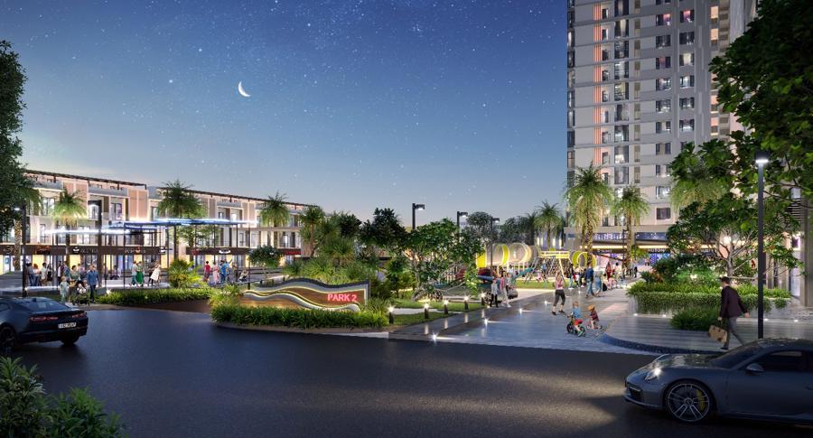 Tòa tháp Park 2 - lựa chọn an cư của người trẻ và gia đình trẻ.