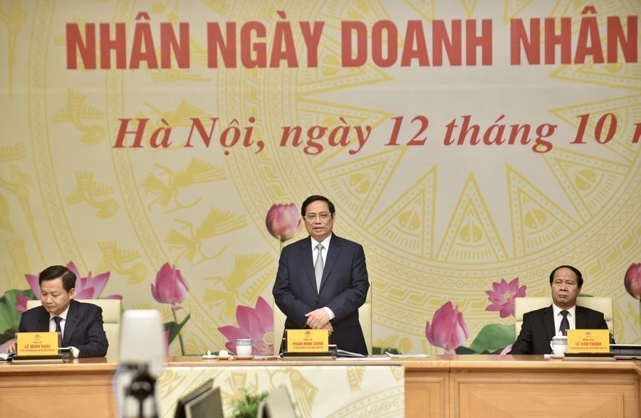 Thủ tướng phát biểu tại sự kiện - Ảnh: VGP