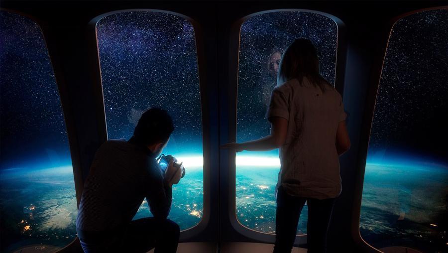 Chuyến bay lên vùng cận vũ trụ của những chiếc khinh khí cầu này sẽ rất tiện nghi và sang trọng, lại thân thiện với môi trường.