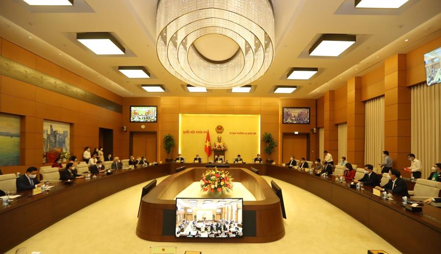Toàn cảnh buổi họp mặt - Ảnh: Giang Nam